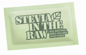 MBT Stevia in the raw packet image